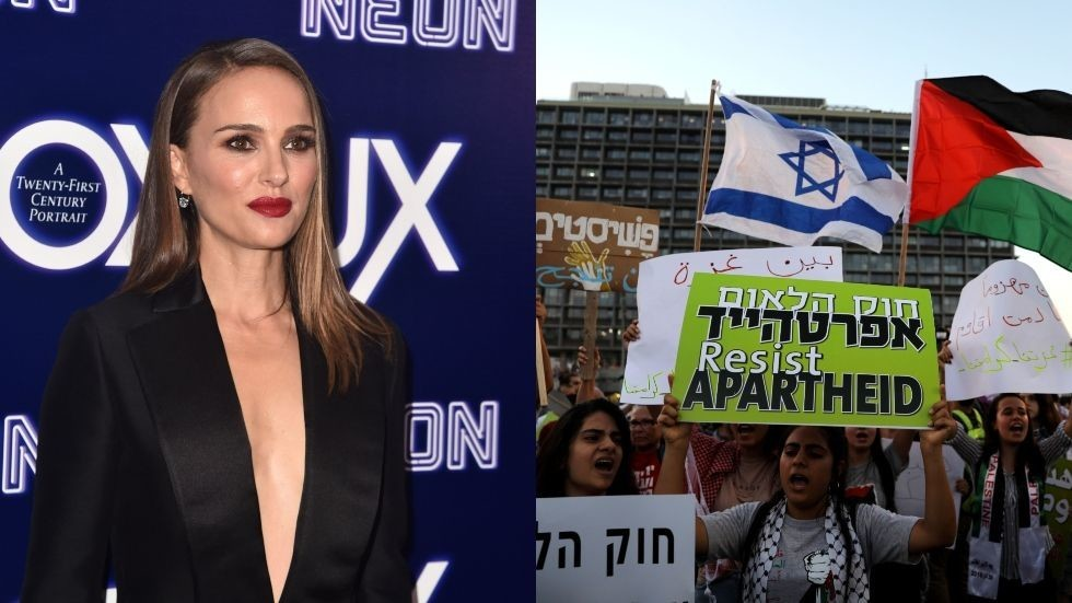 Israel's nation state law is racist, Israeli-American actress Natalie Portman says