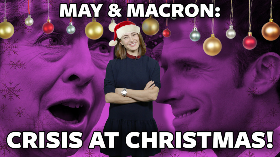 #ICYMI: Christmas crisis as Yellow Vests and Brexit pests target Macron and May (VIDEO)