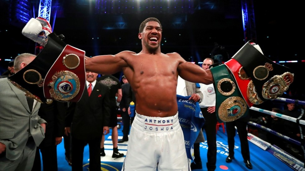 'I'm not interested': Anthony Joshua snubs Tyson Fury as he chases Deontay Wilder clash