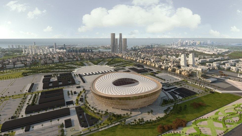 Qatar unveils spectacular design for Lusail Stadium