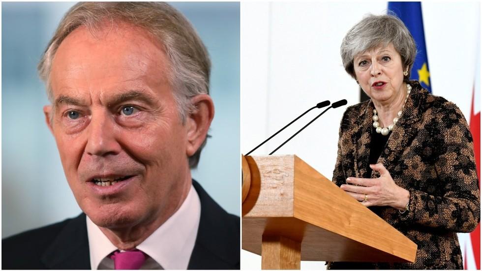 May, Blair trade Brexit snipes - Newspaper