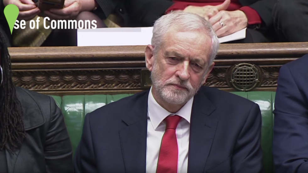 Corbyn denies calling May 'stupid woman'
