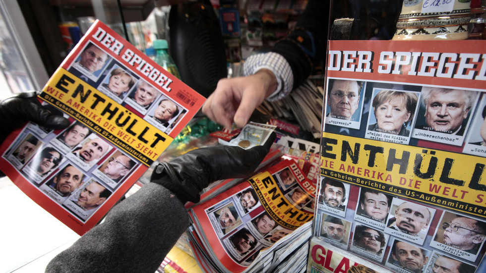 Reporter admits fabricating coverage at Germany's leading news magazine