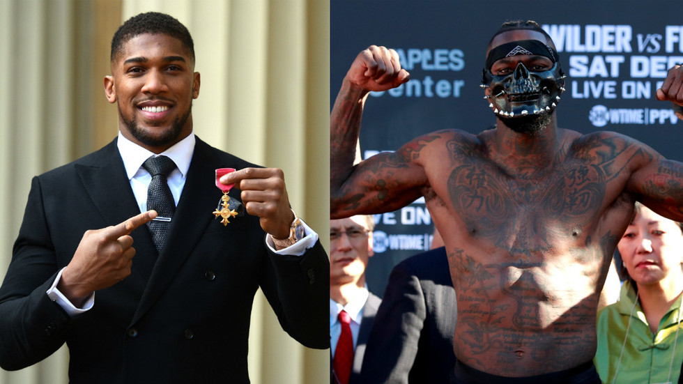 British-Nigerian Heavyweight Boxer, Anthony Joshua, Awarded OBE by Prince Charles