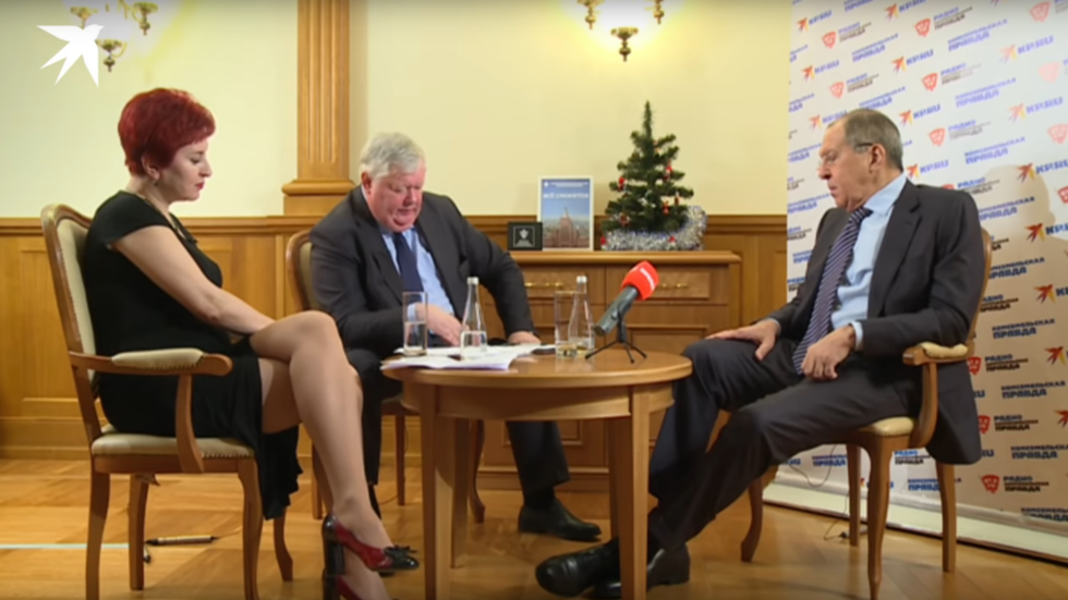 'We won't fight Ukraine, I promise': Was this the fieriest interview of Sergey Lavrov's career?