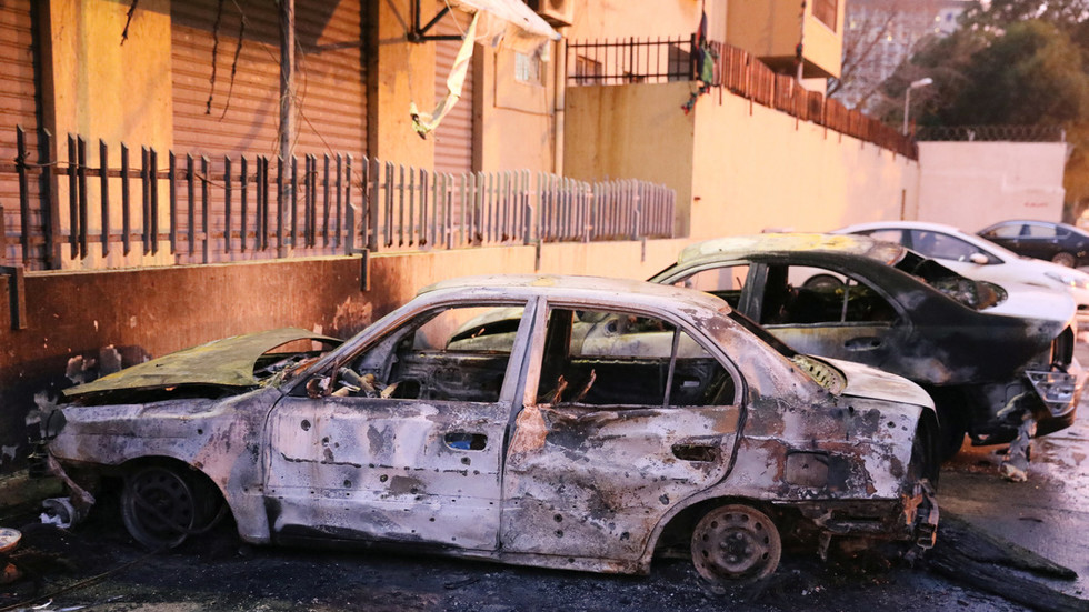 ISIS claims responsibility for suicide bombing at Libya's foreign ministry in Tripoli (PHOTOS)