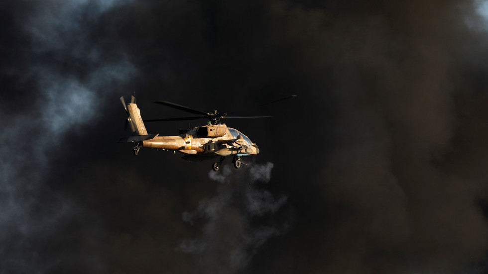 Israeli helicopter attacks Hamas target in Gaza in response to rocket fire – IDF