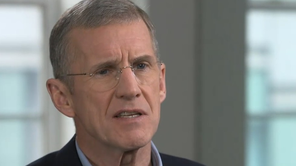 Retired Gen. McChrystal slams 'immoral liar' Trump for pulling out of Syria, says ISIS on the rise 5c2929c5dda4c8fe488b45d6