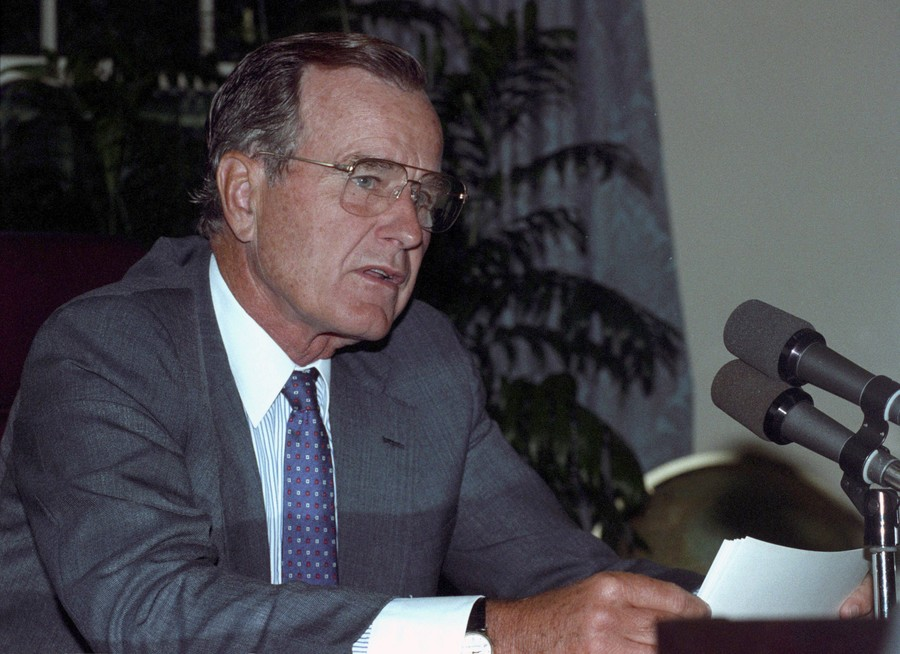 George H.W. Bush, last Cold War-era US president, dead at 94