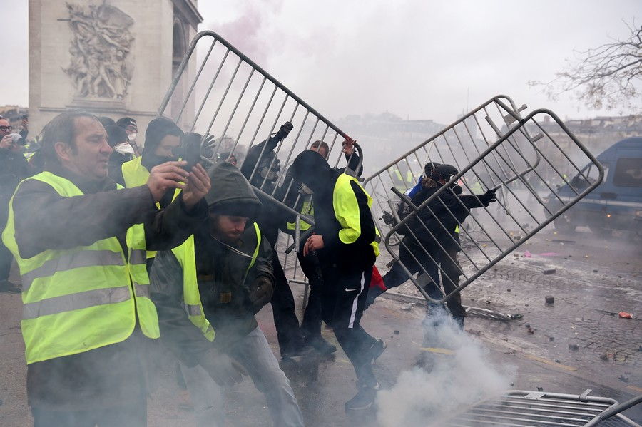Paris protests threaten French economy, finance minister warns