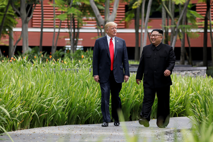 Trump expects next meeting with Kim Jong-un in early 2019, will invite him to US 'at some point'