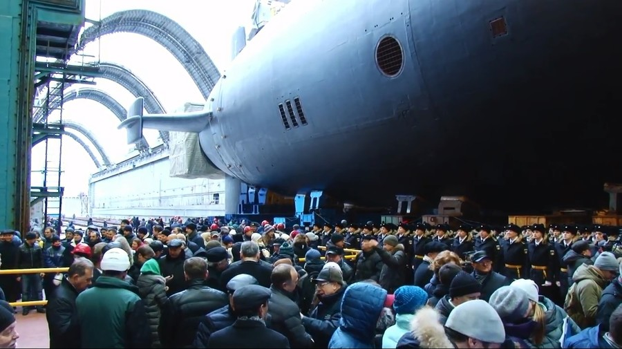 Sea trials of upgraded Borei-class nuclear submarine reportedly underway in Russia