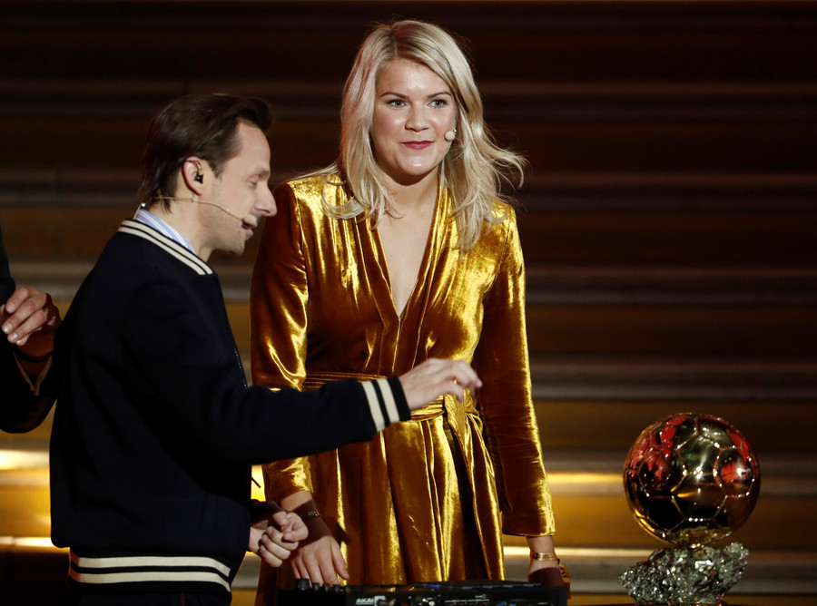 Ballon d'Or victor  Ada Hegerberg asked if she 'knew how to twerk'