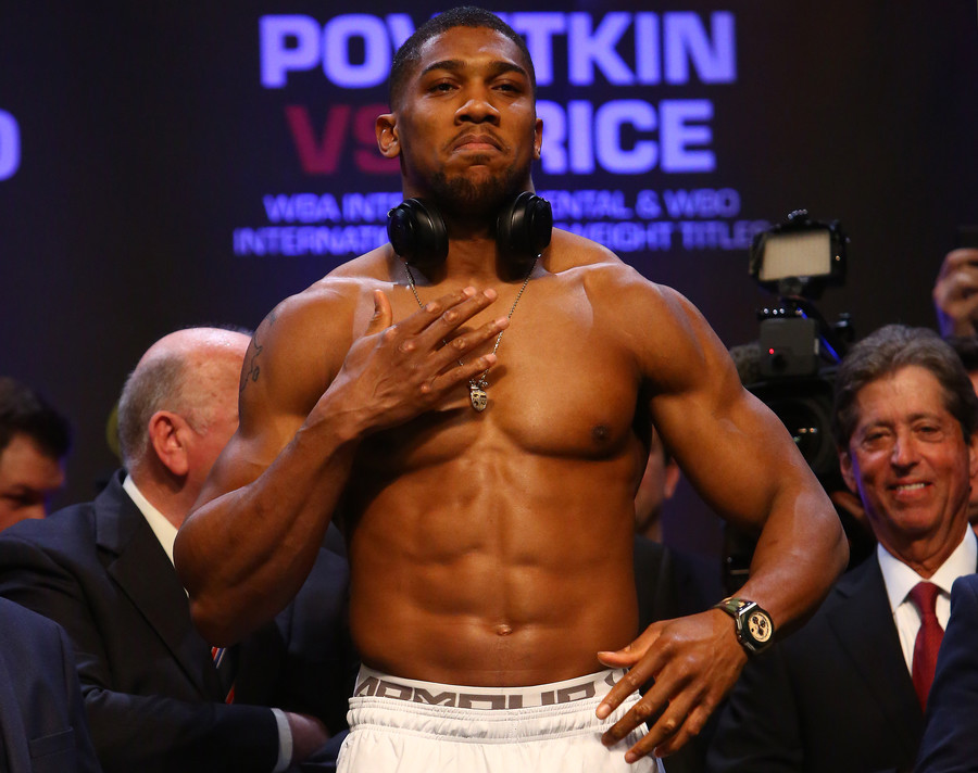 'I'll give either a fair one when you're ready!' Champion Joshua calls out rivals Wilder & Fury