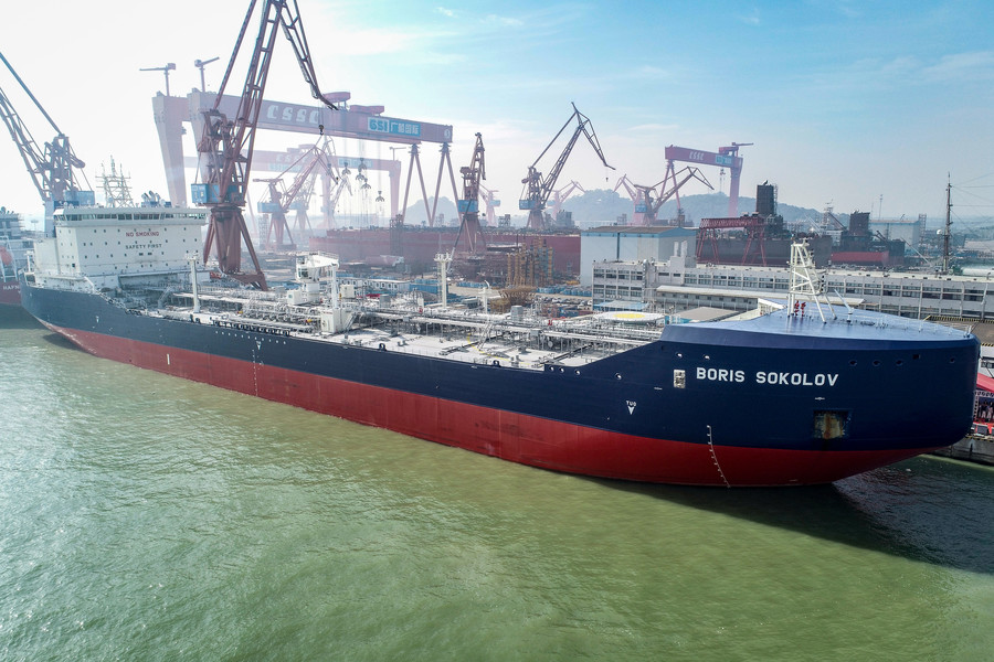Breaking the ice: China launches its 1st all-season Arctic LNG tanker