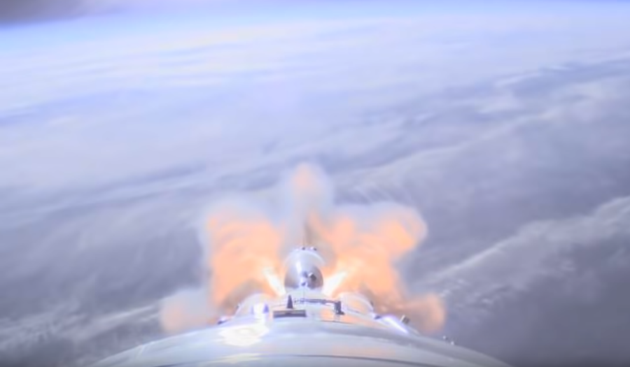 WATCH spectacular on-board footage of the Soyuz rocket blasting off