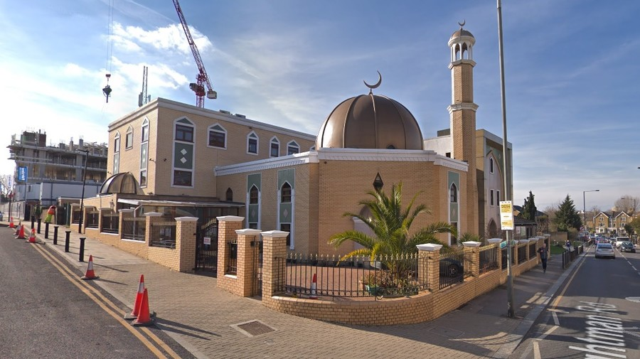 Luxury property developer accused of Islamophobia after 'airbrushing mosque' out of marketing photos