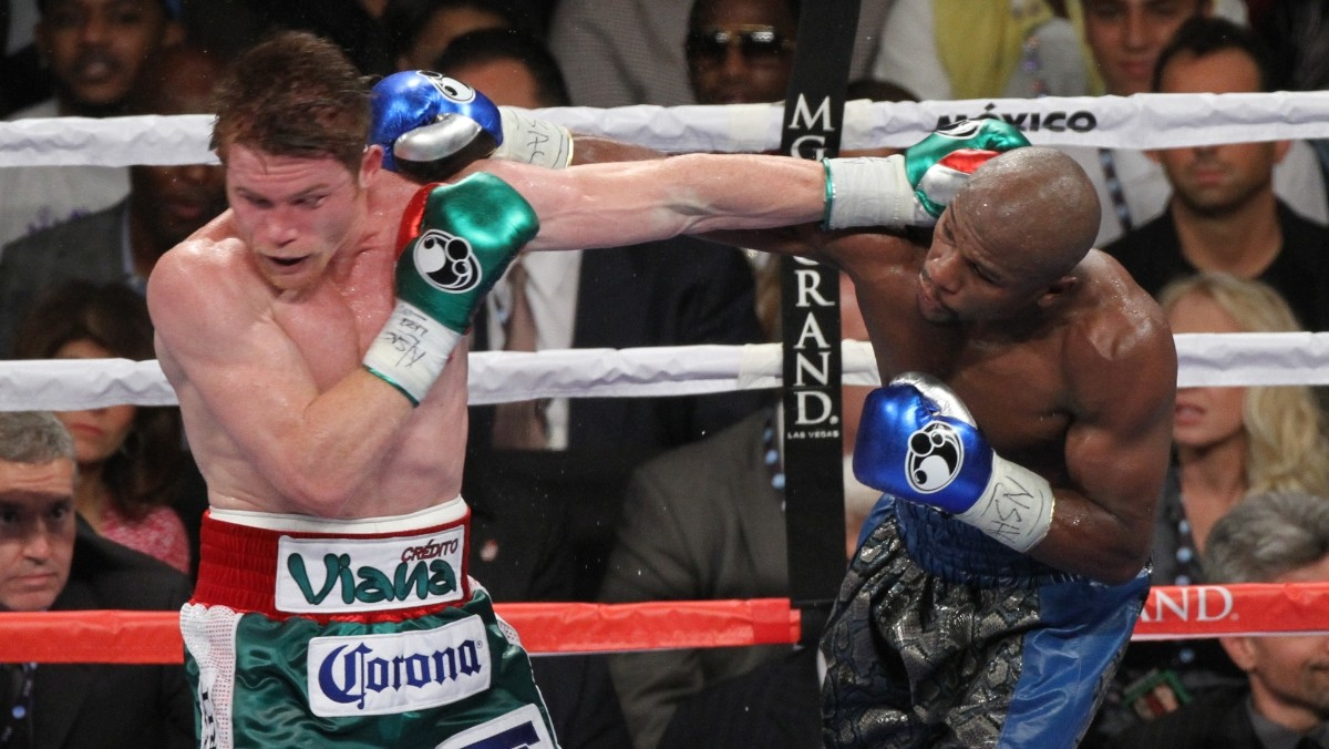 Rocky Fielding floored four times as Saul Canelo Alvarez romps to victory