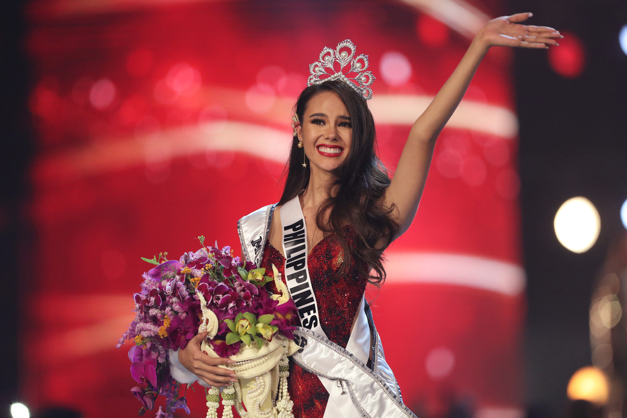 Catriona Gray's illustrious beauty pageant journey