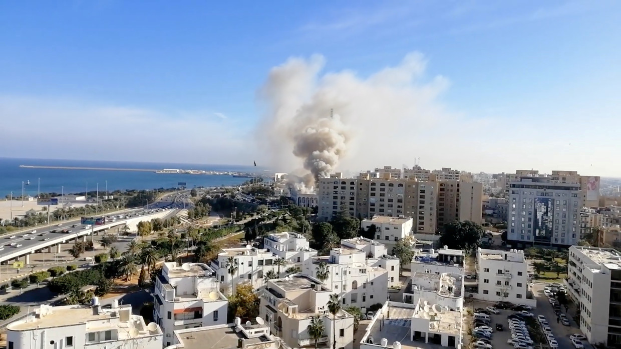 Three dead in Libya's foreign ministry attack in Tripoli
