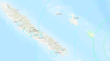 7.6 quake hits near New Caledonia, hazardous tsunami waves possible