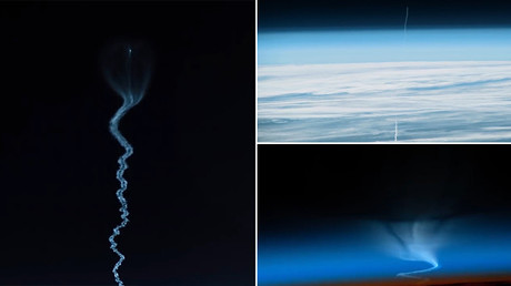'Into the great black open': Soyuz TIME-LAPSED journey to the International Space Station (VIDEO)