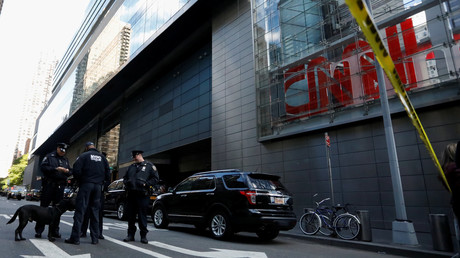 CNN office evacuated due to bomb threat