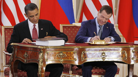 US preparing to sink Obama-signed nuke control treaty with complaints about Russian missile – Lavrov