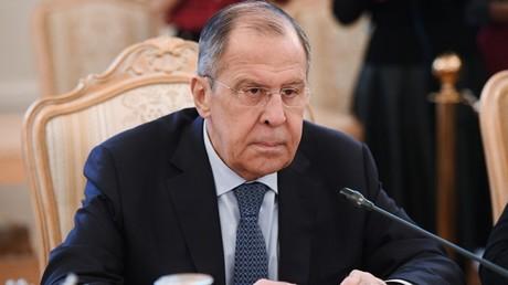 Russian Foreign Minister Sergey Lavrov. ©  Sputnik / Aleksey Filippov