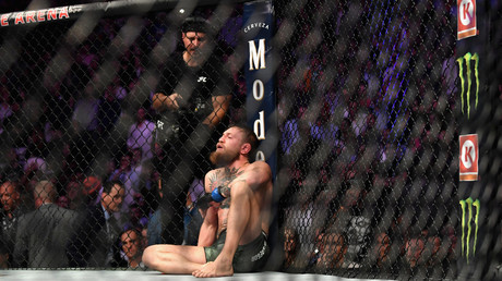 McGregor fan banned from UFC events after rushing to Irish star's aid during Khabib fracas