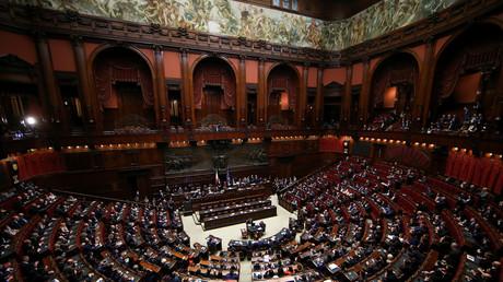 Lustful lawmakers: Italian MPs secretly filmed having sex in govt bathroom