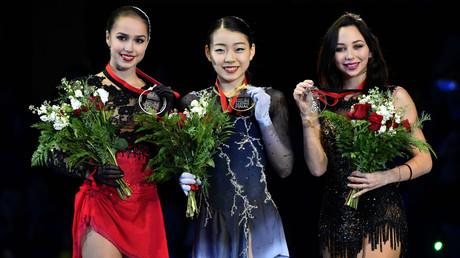 Japanese star Kihira clinches Grand Prix final win as Zagitova settles for 2nd