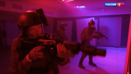 VIDEO of Russian Foreign Intel Spetsnaz training shown for the 1st time on TV
