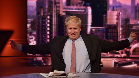 Boris Johnson's new haircut fires up rumor mill about Tory leadership challenge (PHOTOS)