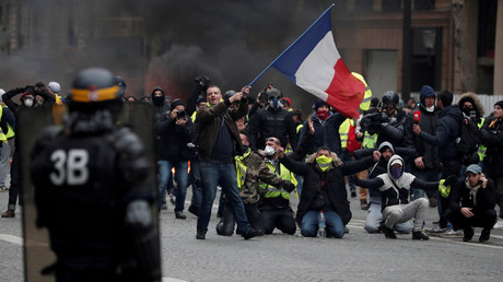 Russian media covered the Yellow Vest protests; now France is investigating Russian 'interference'
