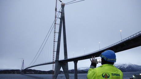 Arctic mega bridge opens to traffic in Norway… thanks to China (PHOTO, VIDEO)