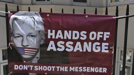 'Spying & threats': Assange complains of 'more subtle' silencing than Khashoggi