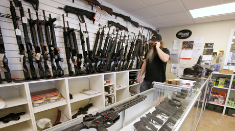 US gun deaths at 40-year record as suicide rate spikes