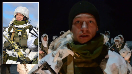 Ukrainian trooper who wore Nazi SS insignia thought it was a kind of... PIRATE FLAG?!