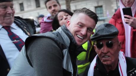 'BIG TROLL!' British prankster dressed as old man tricks Tommy Robinson AGAIN (VIDEO)