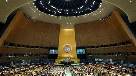 Russia introduces draft UNGA resolution to save INF Treaty