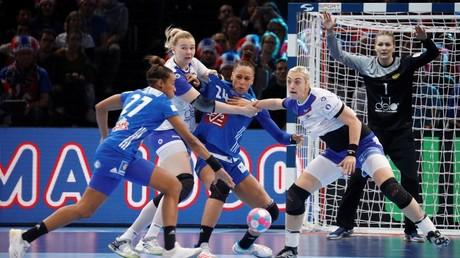 Russian women's handball team slip to defeat against France in Euro final