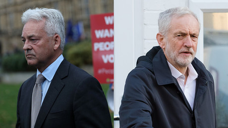 (L) Alan Duncan © REUTERS/Simon Dawson; (R) Jeremy Corbyn © Global Look Press/Vickie Flores/ZUMAPRESS.com