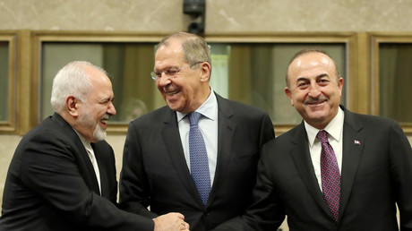 Russia, Iran & Turkey agree to launch Syrian constitution committee by January