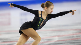 'I've never seen a kid her age do this': 9yo Russian skater fixes incredible triple axel (VIDEO)
