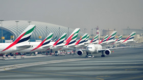 Blinging Boeing: Emirates image of diamond-decked aircraft takes off on social media