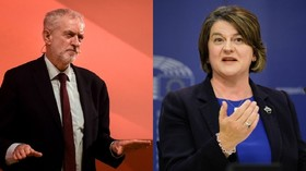 Corbyn plots no-confidence motion with DUP in May's Tory govt before Christmas – reports