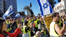 'Time to learn from the French!' Yellow Vest protests spread to Israel, 10 arrested (VIDEOS)