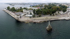 General view of Sevastopol Bay.