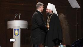 US Orthodox priest blasts splitting of Ukrainian Church from Moscow as Poroshenko's election ploy